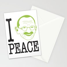 I __ Peace Stationery Cards