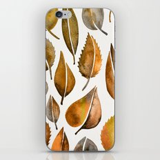 Rusty Leaves iPhone & iPod Skin