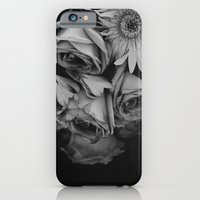 iPhone & iPod Case featuring Nostalgia in black and white by Adriana Fuentevilla