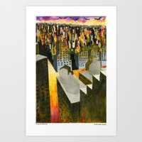 Yonge and Davisville Art Print