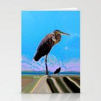 Big Bird, Little Bird Stationery Cards