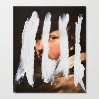 Untitled (Finger Paint 2… Canvas Print