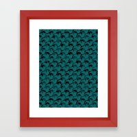 Abstract Pattern 1 Framed Art Print