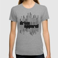 Drivn Apparel, leaves 18x24 Womens Fitted Tee Tri-Grey SMALL