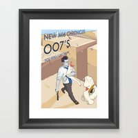 YOU KNOW MY NAME Framed Art Print