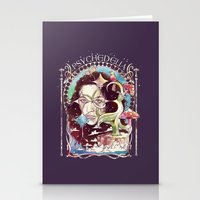 Psychedelia Stationery Cards