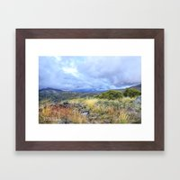 Just A Little While Long… Framed Art Print