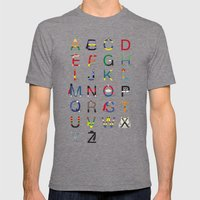 ABC SH Mens Fitted Tee Tri-Grey SMALL