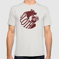 The Grizzly's Sin of Sloth Mens Fitted Tee Silver SMALL