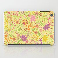 Oriental Blooms iPad Case