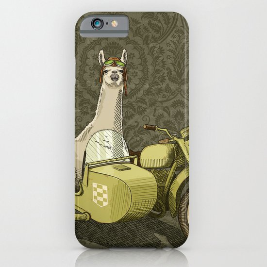 Sidecar Llama iPhone & iPod Case
