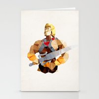 Polygon Heroes - He-Man Stationery Cards