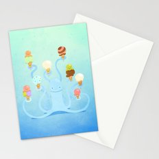 Ice Cream Power Stationery Cards