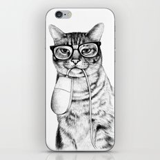 Mac Cat iPhone & iPod Skin