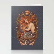 COSMIC LOVER Color Versi… Stationery Cards