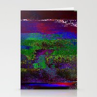 66-84-01 (Earth Night Gl… Stationery Cards