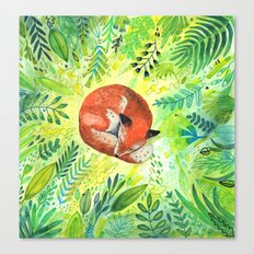 Nature's Heart Canvas Print