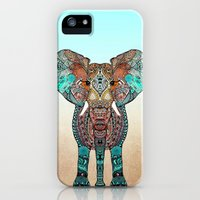iPhone 5/5s Case featuring ElePHANT by Monika Strigel