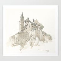 St. Lubentius Dietkirche… Art Print