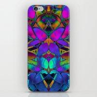 Floral Fractal Art G308 iPhone & iPod Skin