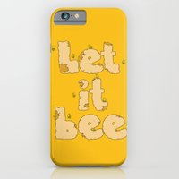 iPhone & iPod Case featuring Let It Bee by Lili Batista