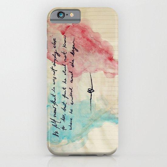 Tolstoy's Love iPhone & iPod Case