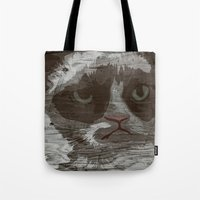 Grumpy Kitty : NO. Tote Bag
