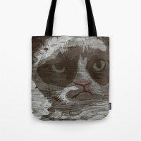 Grumpy Kitty : NO. Tote Bag