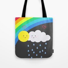 the truth about rainbows Tote Bag