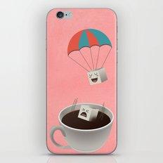 Cautious Sugar Cube iPhone & iPod Skin