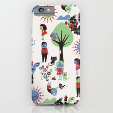 Beautiful day pattern Slim Case iPhone 6s