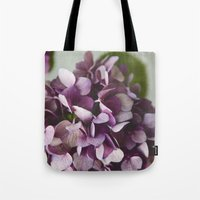 Fading Flowers Tote Bag