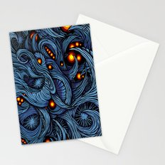 Infection colored Stationery Cards