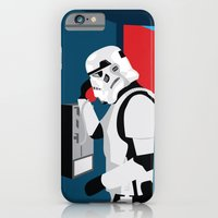 iPhone & iPod Case featuring Stormtrooper Phone Home by Jon Hernandez