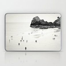 Cornwall beach life Laptop & iPad Skin