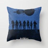 Mass Effect 3 Throw Pillow