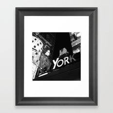 New York Police Department Framed Art Print