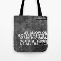 The Facts Tote Bag