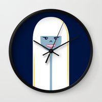 Good Hair Days: Straight Wall Clock