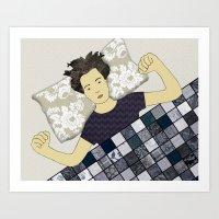 One Good Nights Sleep Art Print
