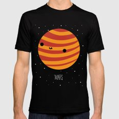 Mars Black Mens Fitted Tee SMALL