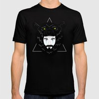 Elder Mens Fitted Tee Black SMALL