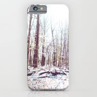 iPhone & iPod Case featuring Winter Forest by Rebekah Carney