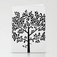Tree Graphic 2 Stationery Cards