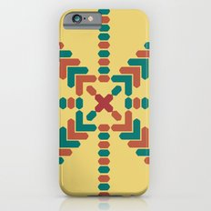 X Marks the Center iPhone 6 Slim Case