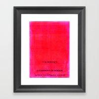 Nosferatu - A Symphony O… Framed Art Print