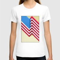 flag T-shirts featuring Flag by Ryan Winters
