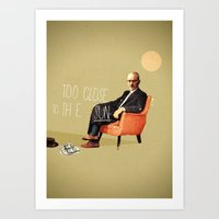 Flying Too Close To The Sun | Breaking Bad | Collage Art Print