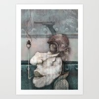 Vintage Rebel Art Print