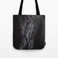 Black Bird (2) Tote Bag
